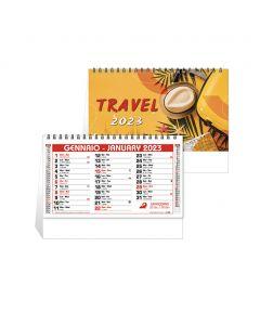 TRAVEL - Calendrier de bureau à thème de voyage