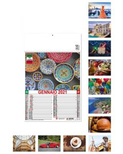 MADE IN ITALY - Calendrier de l'excellence italienne
