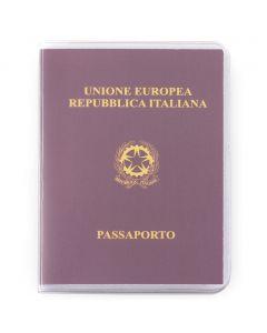 PASSPORT - Porte-passeport en PVC transparent