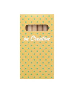 PENXIL 6 - Set de 6 crayons en bois