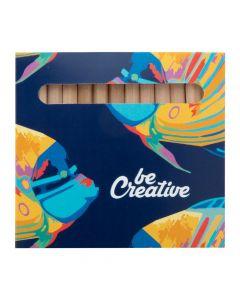 PENXIL 12 - Set de 12 crayons en bois