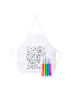 TIZY - tablier à colorier