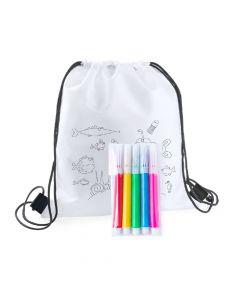 BACKYS - sac piscine à colorier