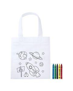 MOSBY - sac shopping à colorier