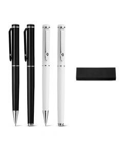 CALIOPE SET - KIt roller et stylo bille en métal