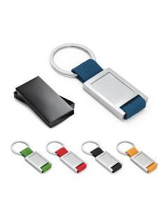 ANCHOR - Porte-clés en métal et webbing